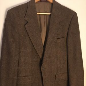 Other - Tweed Blazer with Suede Elbow Patches - 39R